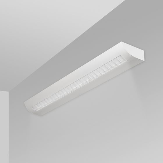 Image 1 of Alcon Lighting 6020 Fluorescent Indoor Modern Architectural Wall Mount Luminaire - Direct/Indirect Damp Rated
