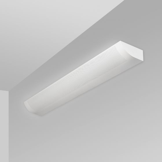 Image 1 of Alcon Lighting 6021 Fluorescent Indoor Modern Architectural Wall Mount Light Fixture - Direct/Indirect Damp Rated