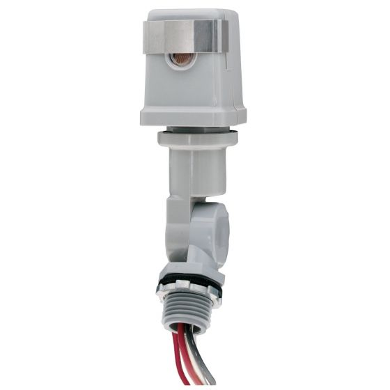 Image 1 of Intermatic K4221C 120-Volt Stem and Swivel Mount Photo Control 120V