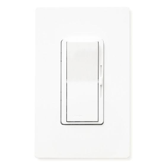 Image 1 of Lutron Diva 600 Watt 3-Way Preset Dimmer