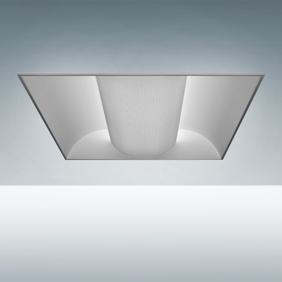 Image 1 of Alcon Lighting 7013 Perforated Center Basket Fluorescent Troffer Light Fixture