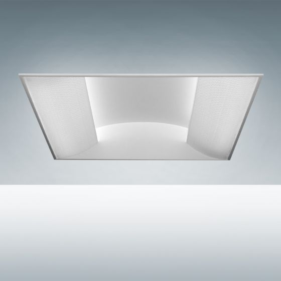 Image 1 of Alcon Lighting 7018 Side Basket Fluorescent Recessed Troffer Direct Light Fixture