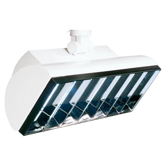 Image 1 of Lightolier Lyteflood L24 24 Watt Twin Tube Fluorescent Track Head 8277
