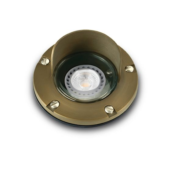 Image 1 of Alcon 9027 Low-Voltage In-Ground Landscape LED Well Uplight