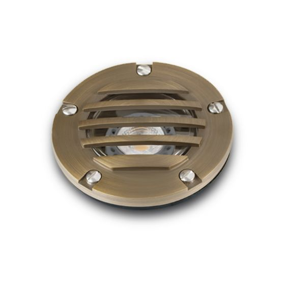 Image 1 of Alcon 9028 Low-Voltage In-Ground LED Well Uplight
