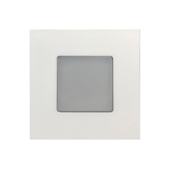 Image 1 of Alcon Lighting 9053 Ara LED Architectural Square Translucent Open Lens Recessed Pathway/Step Light.