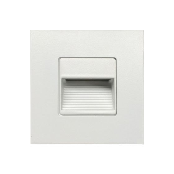Image 1 of Alcon Lighting 9054 Ara LED Architectural Square Baffle Louver Recessed Pathway/Step Light