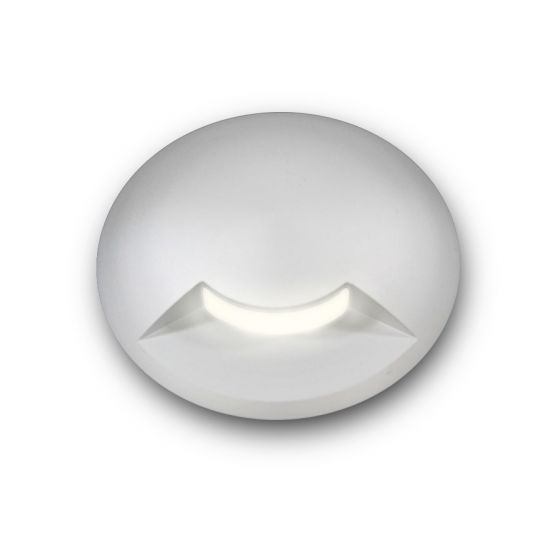 Image 1 of Alcon Lighting 9116 Round Eyelid Architectural Landscape LED Low Voltage In Ground Well Step Light