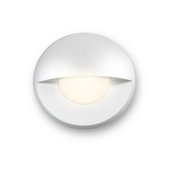 Image 1 of Alcon Lighting 9118 Round Eyelid Architectural Landscape LED Low Voltage In Ground Well Step Light