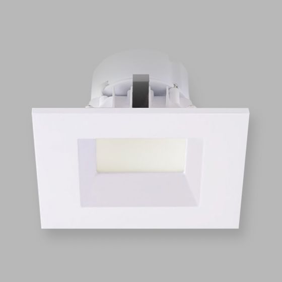 Image 1 of Alcon Lighting Escala 14009-4 4 Inch Square Baffle Architectural LED Recessed Can Light