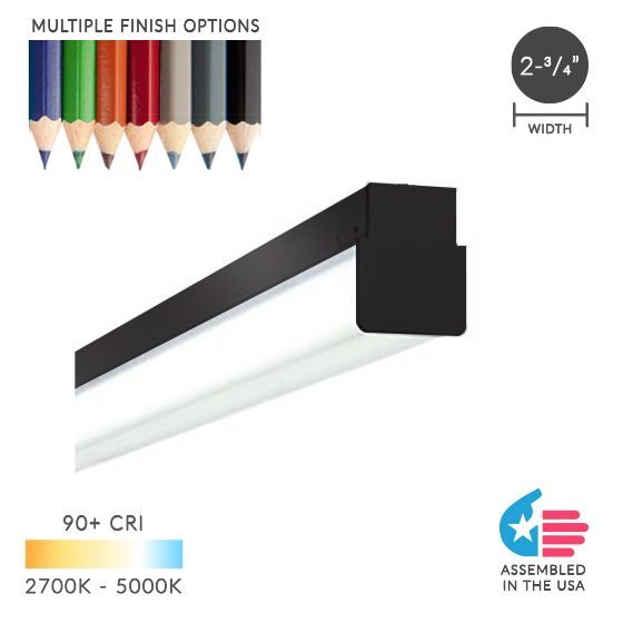 Image 1 of Alcon 12171 Block Commercial-Grade Linear LED Pendant Light
