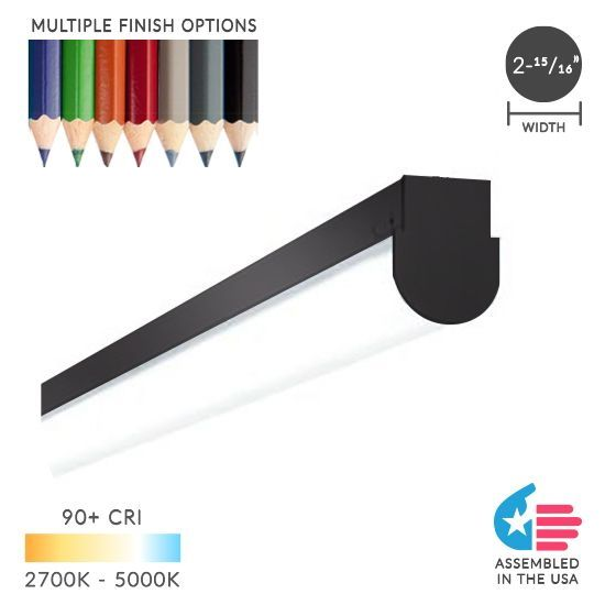 Alcon Lighting 12184 Chela Pendant Mount Architectural LED Linear Direct Down Light Strip