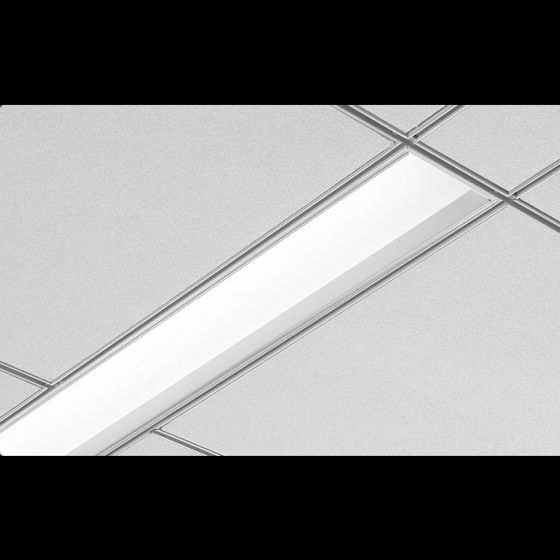 Image 1 of Focal Point Lighting FAV6 Avenue 6 Architectural Recessed Fluorescent Fixture