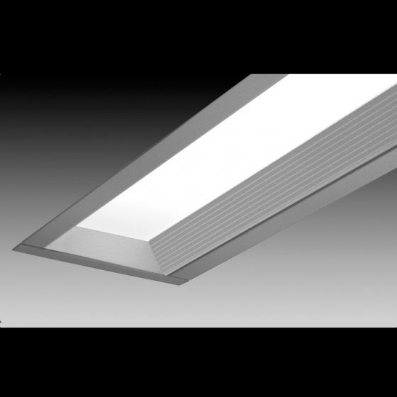 Image 1 of Focal Point Lighting FAVB Avenue B Architectural Recessed Fluorescent Fixture