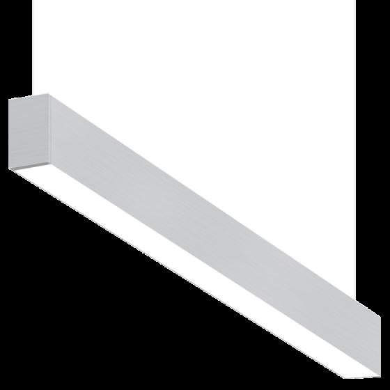 Alcon Lighting 10101-8 Beam Series 8 Foot Fluorescent Suspended Pendant Direct/Indirect Light Strip