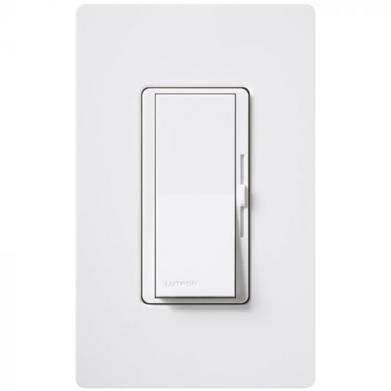 Image 1 of Lutron Diva DVLV-600P -WH Single-Pole Preset Dimmer