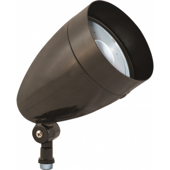 RAB 13 Watt LED Outdoor Floodight Fixture HBLED13 - 120-277V