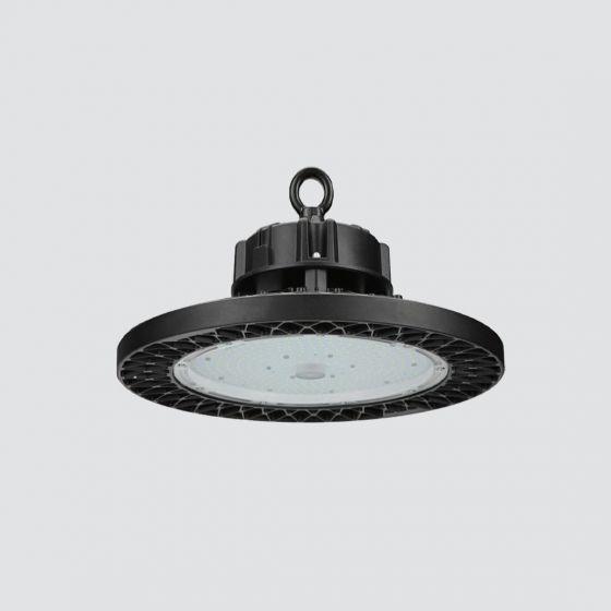 "Image 1 of Alcon Lighting 15217 14"" High Bay LED Round Commercial Lighting Pendant | DLC Premium"