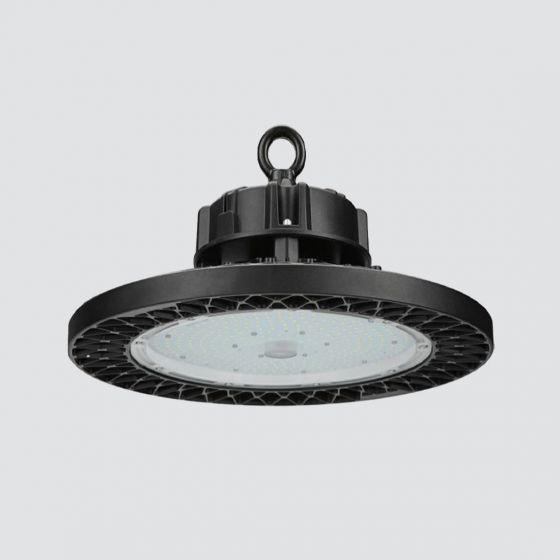 "Image 1 of Alcon Lighting 15218 16"" High Bay LED Round Commercial Lighting Pendant | DLC Premium"