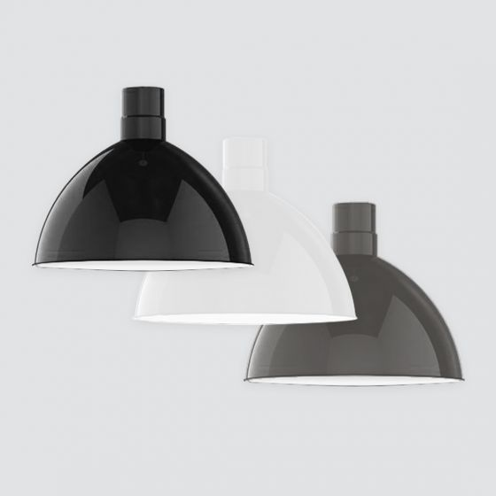Image 1 of Alcon Lighting 15240 Deep Dome Architectural LED Round Barn Light High Bay Direct Down Light Fixture