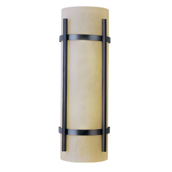 Image 1 of Maxim Lighting 85219WSOI Luna 2-Light Outdoor Wall Sconce