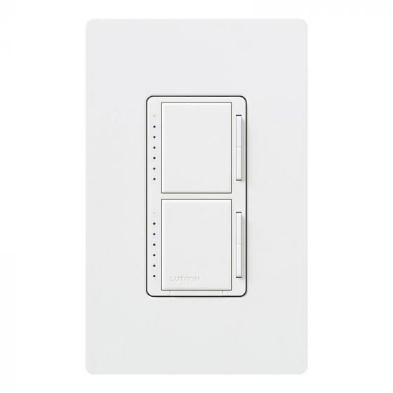 Image 1 of Lutron Maestro Dual Single Pole Digital Fade Dimmer