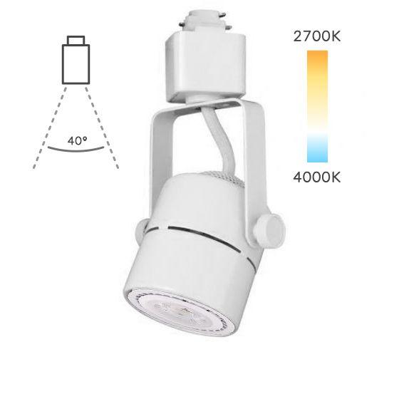 Image 1 of Alcon Lighting 13110 Bella Mini Cylinder Adjustable Swivel Head LED Track Light Fixture