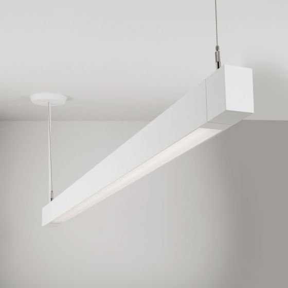Image 1 of Lightolier MicroSquare MQ01L Pendant Direct LED