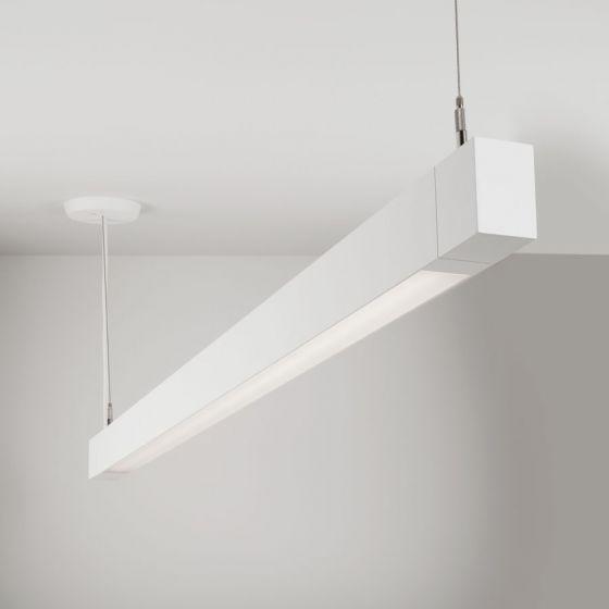 Image 1 of Lightolier MicroSquare MQ06L Pendant Bi-directional LED