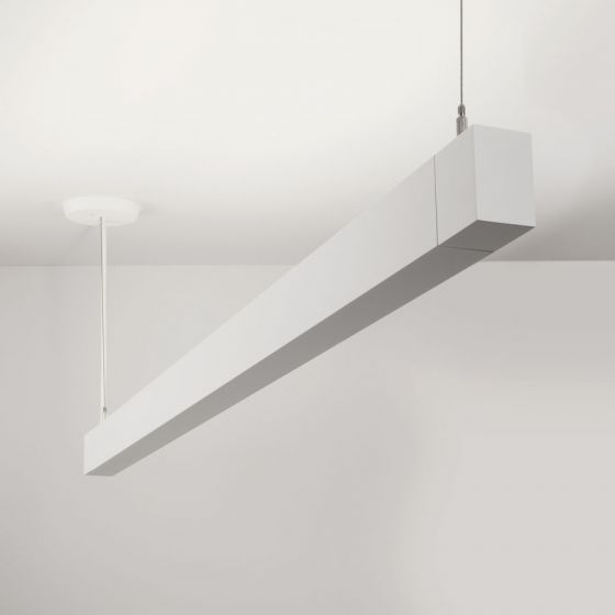Image 1 of Lightolier MicroSquare MQ03L Pendant Indirect LED