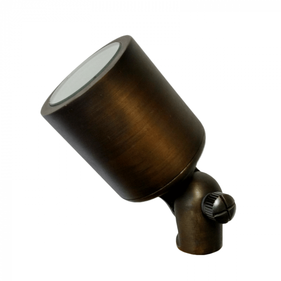 Image 1 of Alcon Lighting 9104 Rio Architectural Landscape LED Low Voltage Brass Directional Uplight