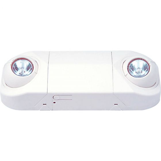 Image 1 of Alcon Lighting 16101 Polo Architectural LED Dual Head Semi-Recessed MR16 Emergency Unit