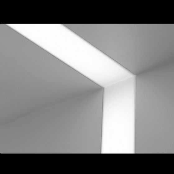 Image 1 of Focal Point Lighting FSM4-FL Seem 4 Corner and Ceiling Architectural Recessed Fluorescent Fixture