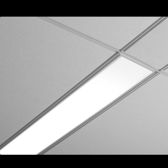 Image 1 of Focal Point Lighting FSM6 Seem 6 Architectural Recessed Fluorescent Fixture