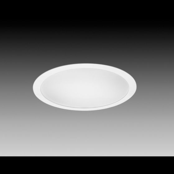 Image 1 of Focal Point Lighting FSD-22, FSD-33, FSD-44 Skydome 2, 3 and 4 Foot Architectural Recessed Fluorescent Round Fixture