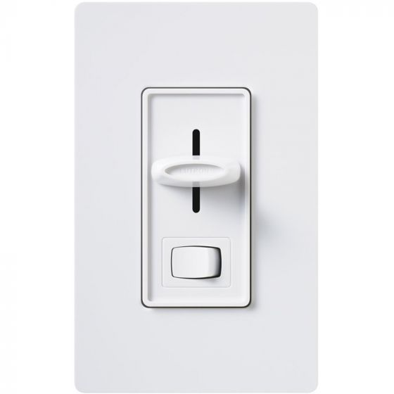 Image 1 of Lutron Skylark SLV-600P -WH Single-Pole Preset Dimmer