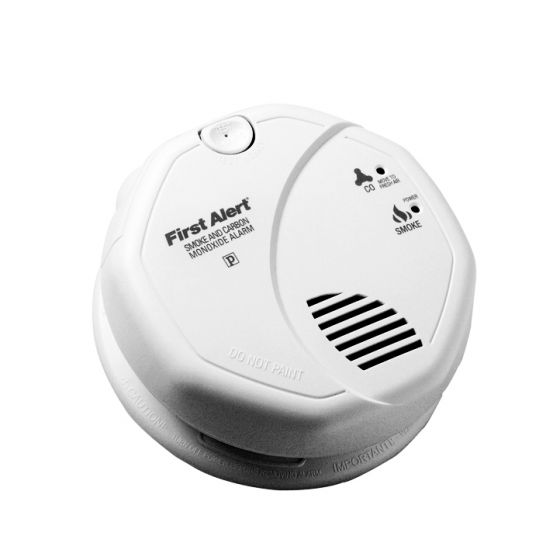 Image 1 of BRK SC7010B Smoke and Carbon Monoxide Alarm AC Powered with Emergency Backup