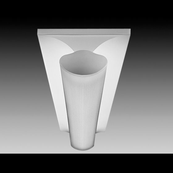 Image 1 of Focal Point Lighting FS214B Softlite II 1 x 4 Architectural Recessed Fluorescent Fixture