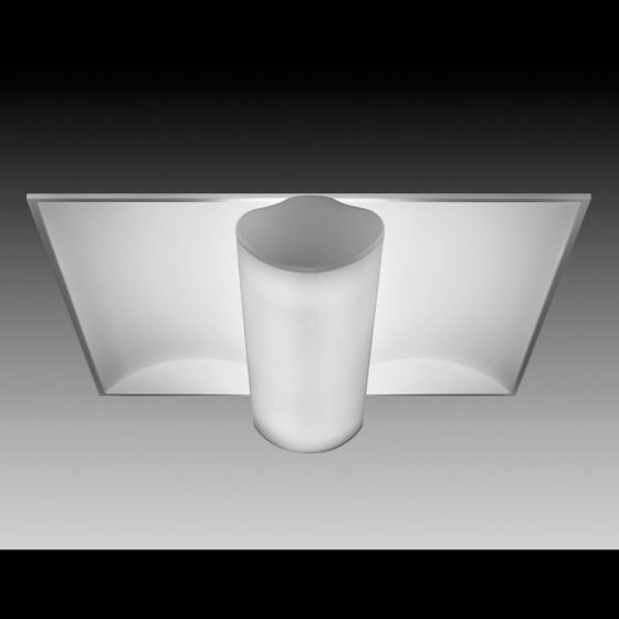 Image 1 of Focal Point Lighting FS322B Softlite III 2 x 2 Architectural Recessed Fluorescent Fixture