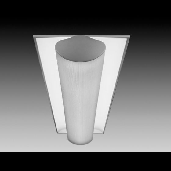 Image 1 of Focal Point Lighting FS314B Softlite III 1 x 4 Architectural Recessed Fluorescent Fixture