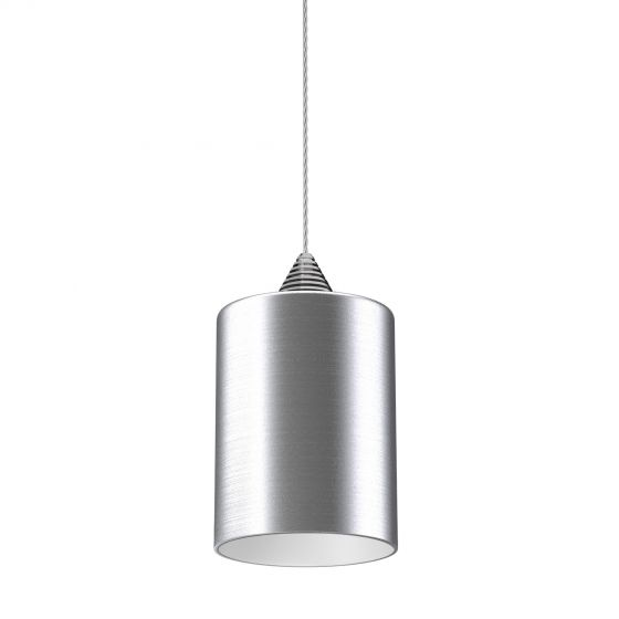 Image 1 of Alcon Lighting 12173 Beleza Architectural LED Metallic Cylinder Pendant Mount Direct Down Light Fixture