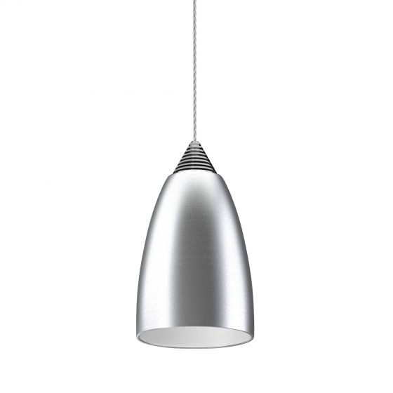 Image 1 of Alcon Lighting 12304 Beleza Architectural LED Metallic Bell Pendant Mount Direct Down Light Fixture