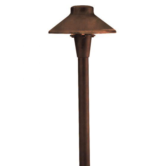 Image 1 of SPJ Lighting Forever Bright SPJ-JTS100 Low Voltage LED Outdoor Path Light - Matte Bronze Finish