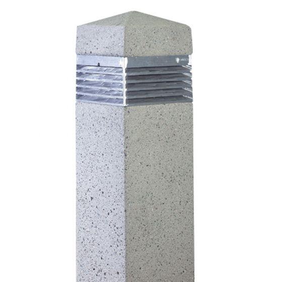Image 1 of SPJ Lighting SPJ-SQ12 Concrete LED Commercial Bollard