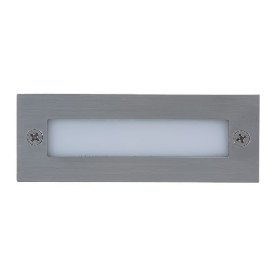 Alcon Lighting 14051 Alder Architectural LED Outdoor Recessed Step Light
