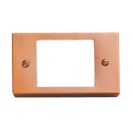 Image 1 of SPJ Lighting Forever Bright SPJ17-05 Outdoor 2 Watt LED Step Light Surface Mount - Matte Bronze Finish
