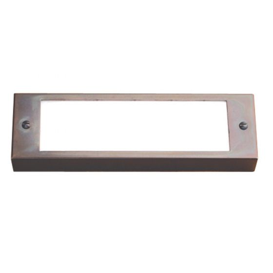 Image 1 of SPJ Lighting Forever Bright SPJ17-07 Outdoor 2 Watt LED Step Light Surface Mount - Matte Bronze Finish