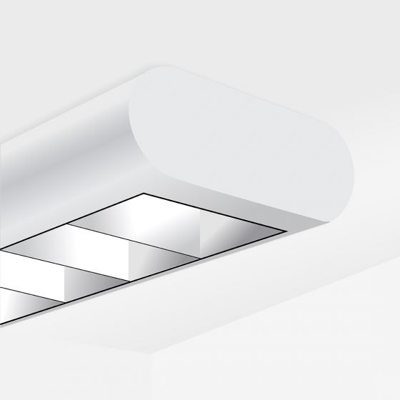Image 1 of Alcon 12146-S Linear Surface-Mount Capsule LED Downlight