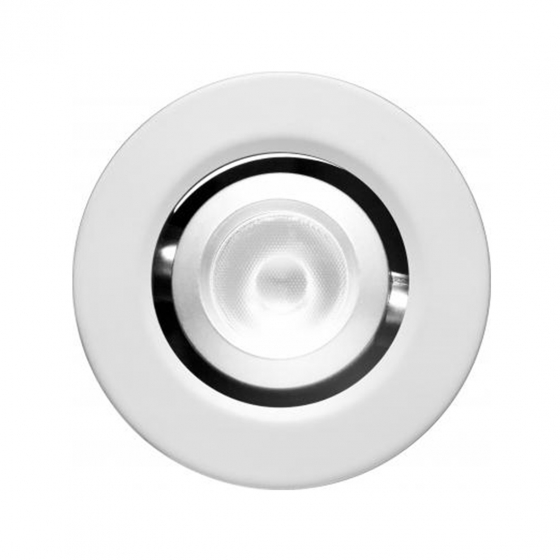 Image 1 of Alcon 14142-R-ADJ Recessed 1-Inch Miniature Round Adjustable Outdoor LED Light