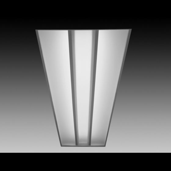 Image 1 of Focal Point Lighting FVR14 Veer 1x4 Architectural Recessed Fluorescent Fixture